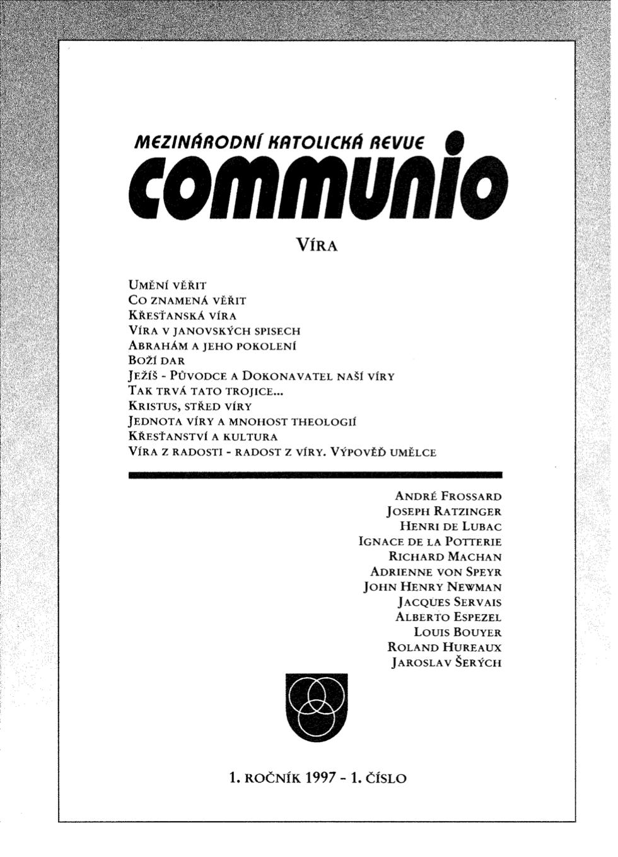 1/1997: Víra