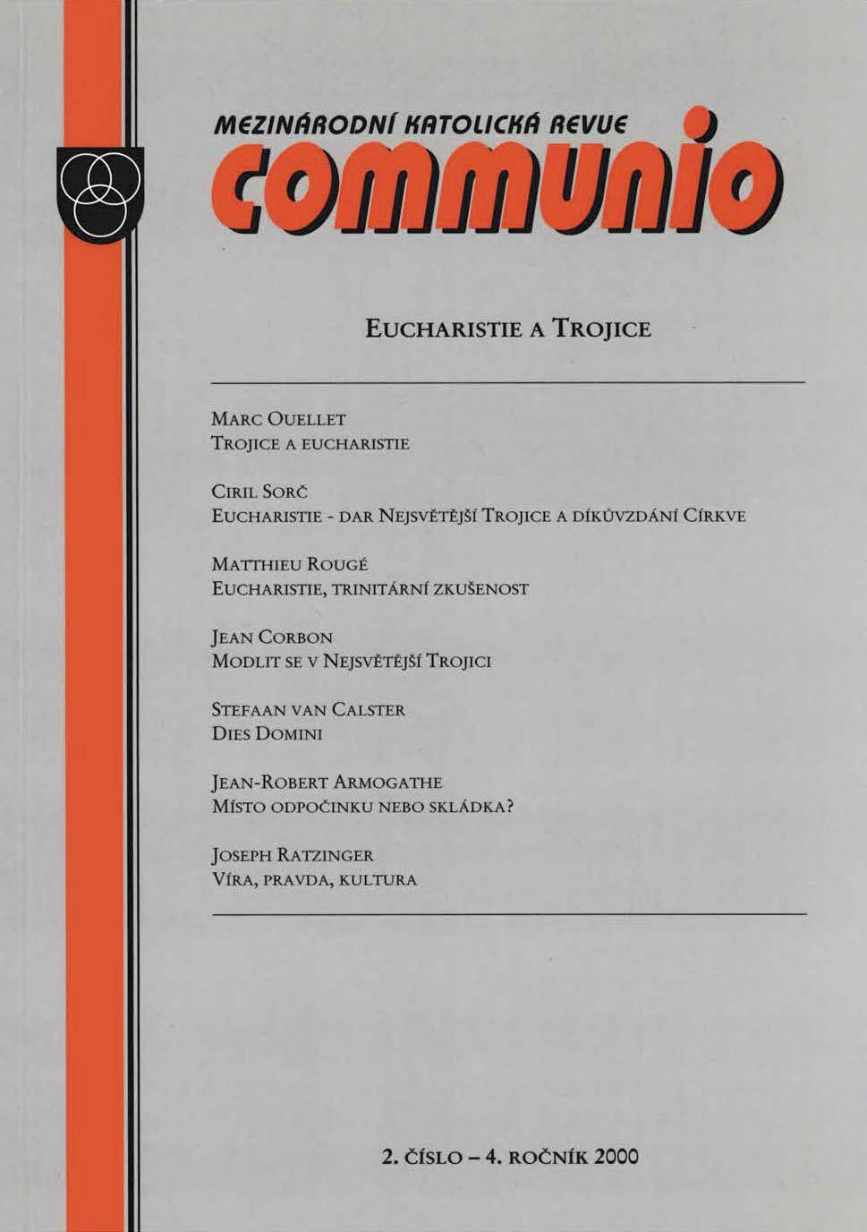 2/2000: Eucharistie a Trojice