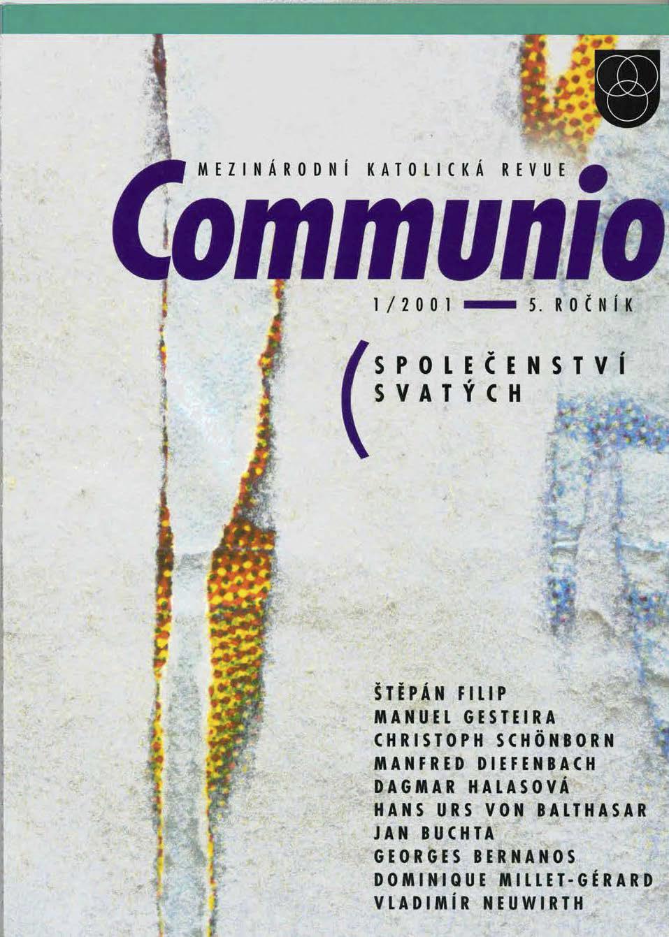 1/2001: Společenství svatých
