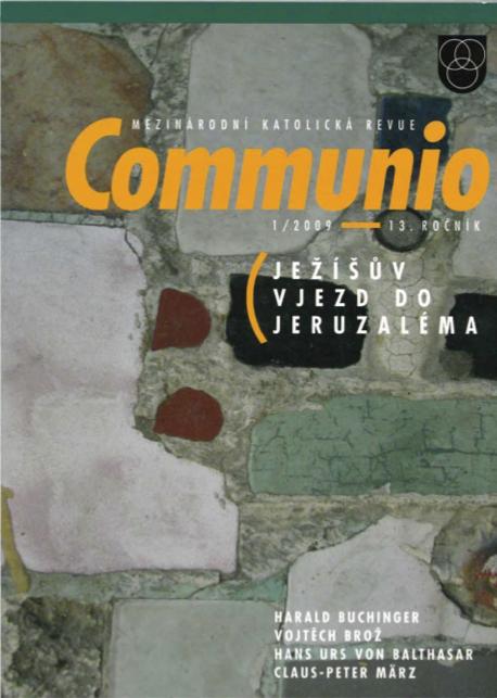 1/2009: Ježíšův vjezd do Jeruzaléma