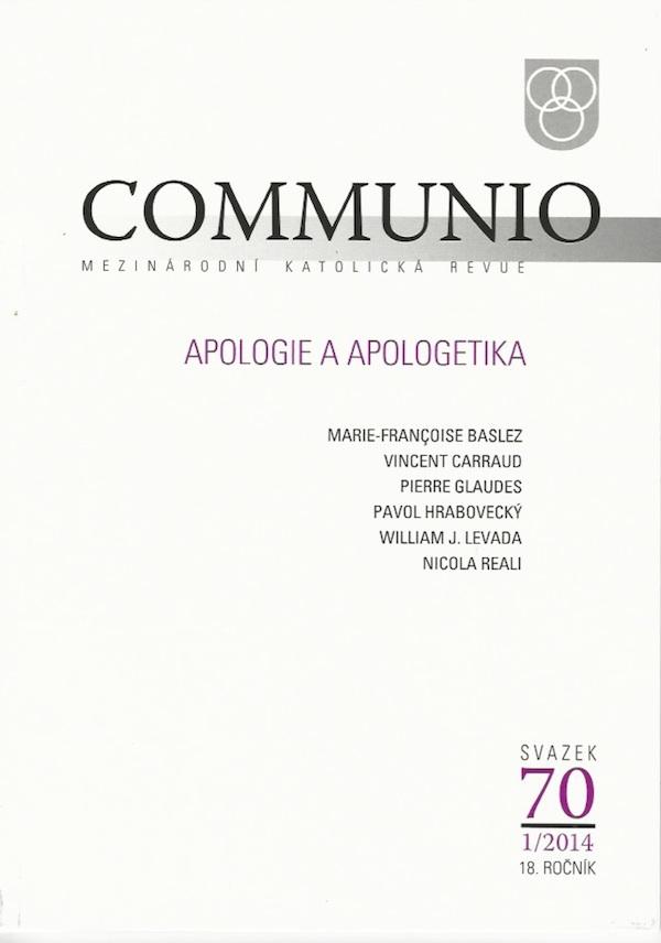 1/2014: Apologie a apologetika