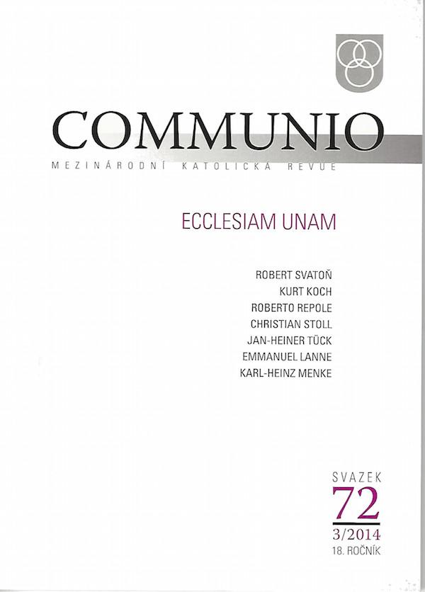 3/2014: Ecclesiam unam