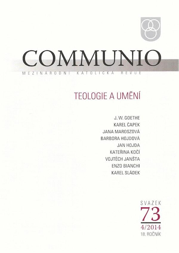 4/2014: Teologie a umění